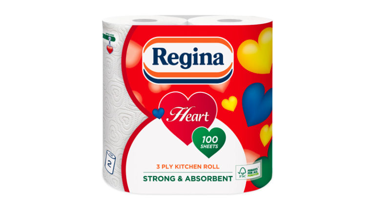 Regina Heart - regina paper for people