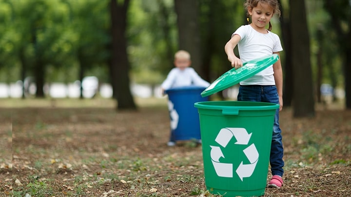 Getting kids to recycle a few ideas to get you started